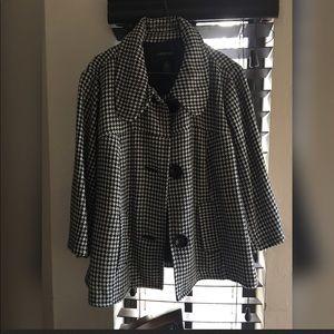 Plaid lane Bryant jacket
